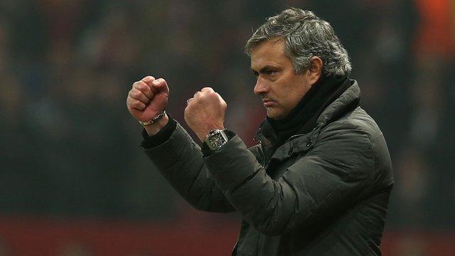 Real Madrid manager Jose Mourinho
