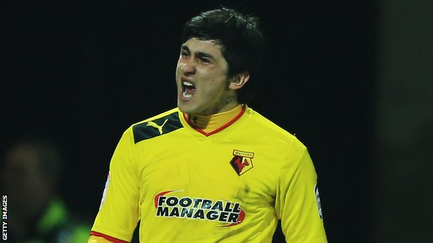 Watford's Fernando Forestieri