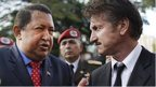 Penn and Stone pay tribute to Chavez