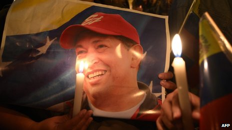 Hugo Chavez memorial.