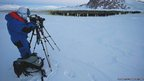 Surveying emperor penguins in Antarctica