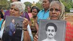 Protest over 'missing' Sri Lankans
