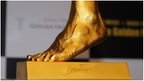 '£3.5m' Messi gold foot for sale