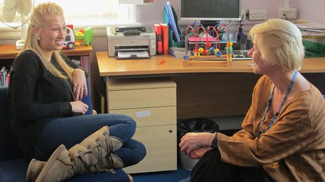 Stacey Solomon talks to psychotherapist Amanda Jones.
