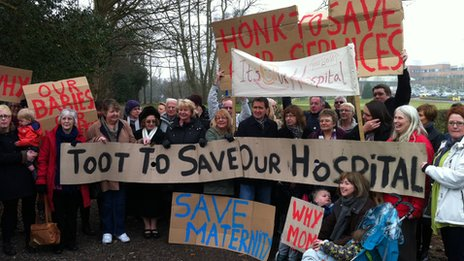 Stafford Hospital protest