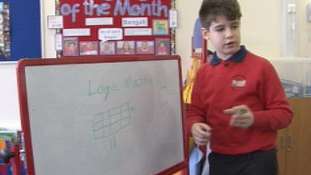 10-year-old prodigy teaches younger students maths