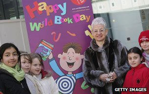 Jacqueline Wilson on World Book Day