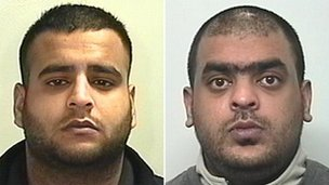 Bilal Hussain and Shazad RehmanKeighley rape trial: Bilal Hussain and Shazad Rehman jailed