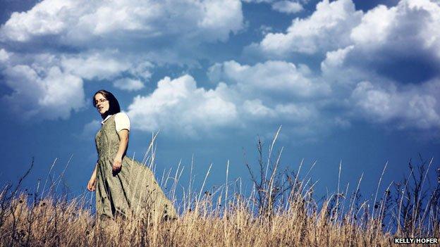 Hutterite woman