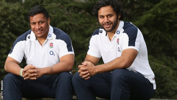 Mako Vunipola and his brother Billy