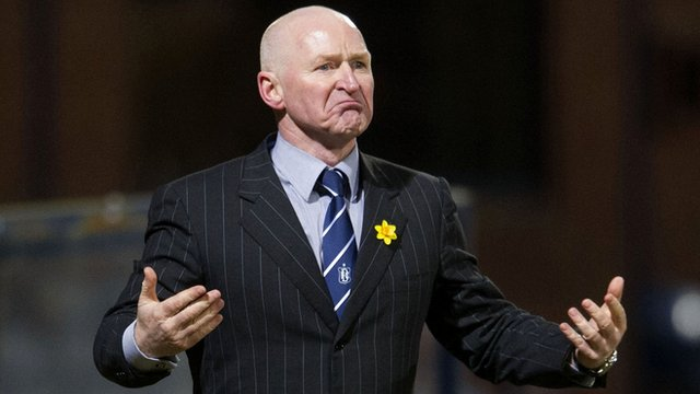 Dundee interim manager John Brown