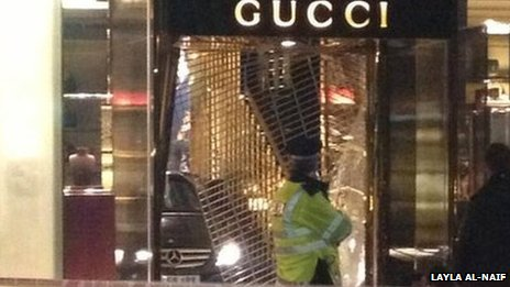 Gucci store