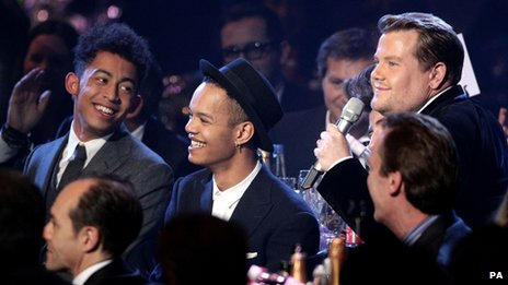 Rizzle Kicks with James Corden