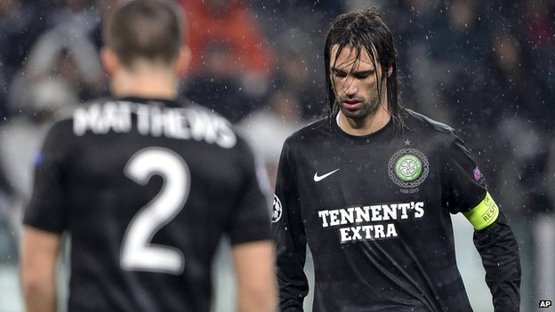 Celtic crash out of Europe