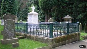 Emily Davison's grave (pic courtesy of Greater Morpeth Development Trust)