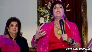 Mahabanoo Mody Kotwal and Eve Ensler