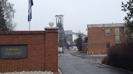 Daw Mill colliery