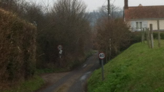 30mph and 40mph signs in Middleton