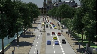 Vision of the 'Crossrail' for bikes