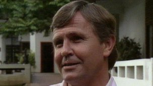 Dirk Coetzee, file pic from 1990