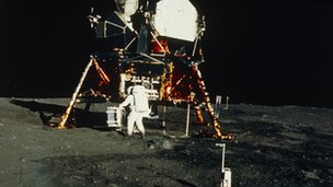 Lunar landing in 1969
