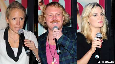 Clemmie Moodie, Keith Lemon and Morgana Robinson