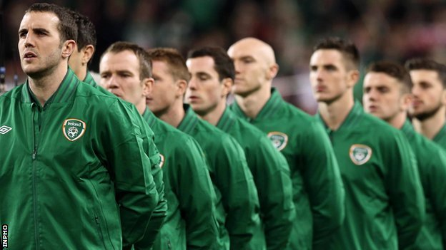 The Republic of Ireland team