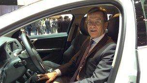 Volvo chief Haakan Samuelsson