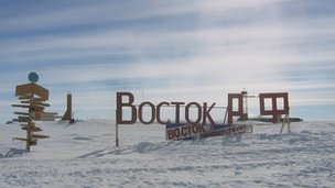 Lake Vostok Camp