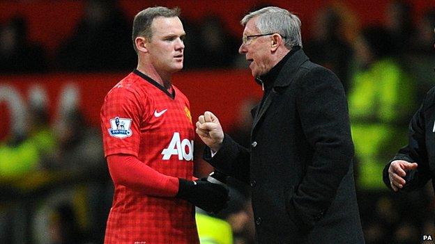 Rooney and Ferguson