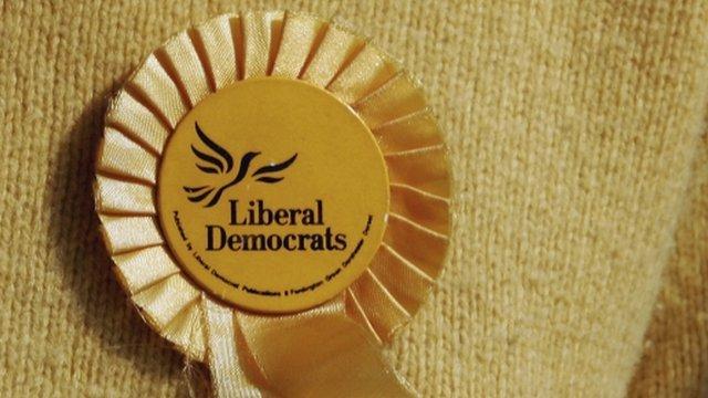 Liberal Democrat rosette