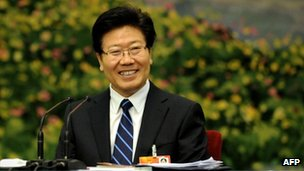 Communist Party Secretary of Xinjiang, Zhang Chunxian 
