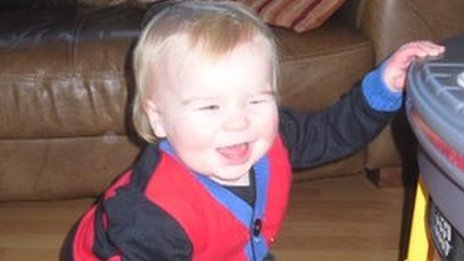 Harry Connolly was 19 months old when he died