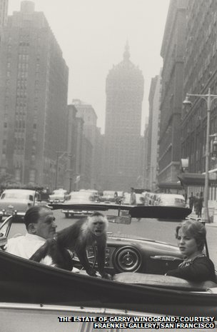 Garry Winogrand, Park Avenue, New York, 1959; gelatin silver print; collection National Gallery of Art, Washington, DC, Patrons' Permanent Fund; image courtesy National Gallery of Art, Washington, DC