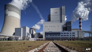 Belchatow coal-fired power plant in Poland