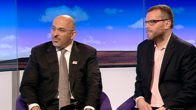 Nadhim Zahawi and  Tim Montgomerie