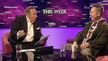 Andrew Neil and Nigel Kennedy