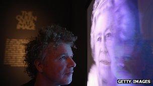 Hologram of the Queen