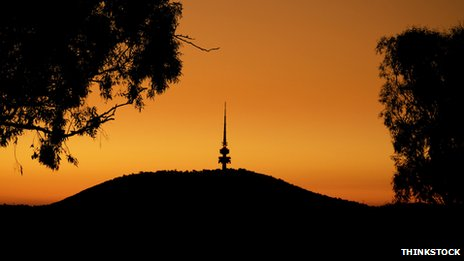 Black Mountain in Canberra