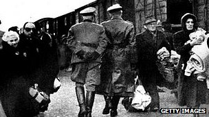 Nazi deportation of Jews - file pic
