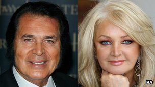 Engelberg Humperdinck and Bonnie Tyler