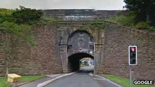 Spouthouse aqueduct (Google image)