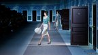 A model presents clothing from Louis Vuitton's Ready to Wear collection