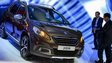 The new Peugeot 2008 at the 2013 Geneva motor show 