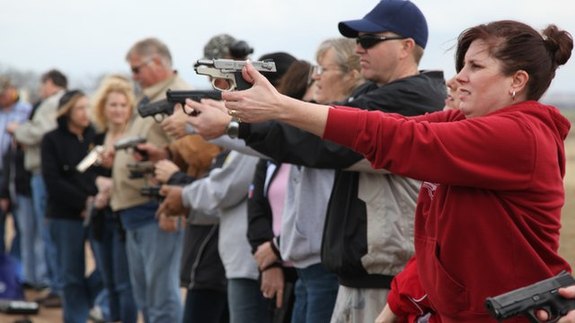 Teachers in Texas brush up on their shooting skills