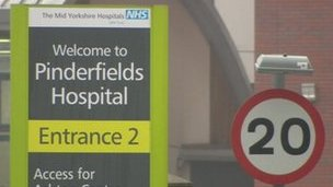 Pinderfields Hospital