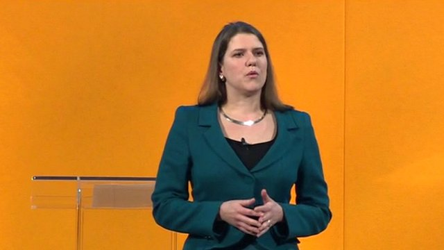 Junior equalities minister Jo Swinson