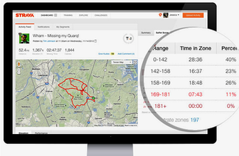 Strava screenshot