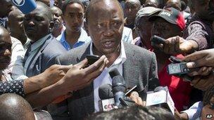 Uhuru Kenyatta (file pic from 4 March)