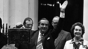 Denis Healey in 1978